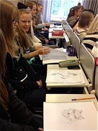 Helsingin yliopistolla Tatuointi-luennolla
