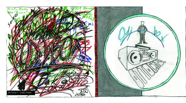Artturi cd-kansi