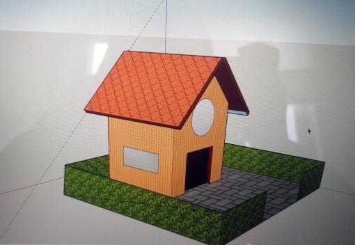 Mummonmökki Sketchup-harjoitus (15.4.2020 11.18.09)