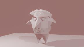 omituinen lintu hahmo